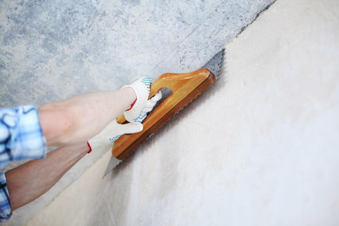 Wall polishing